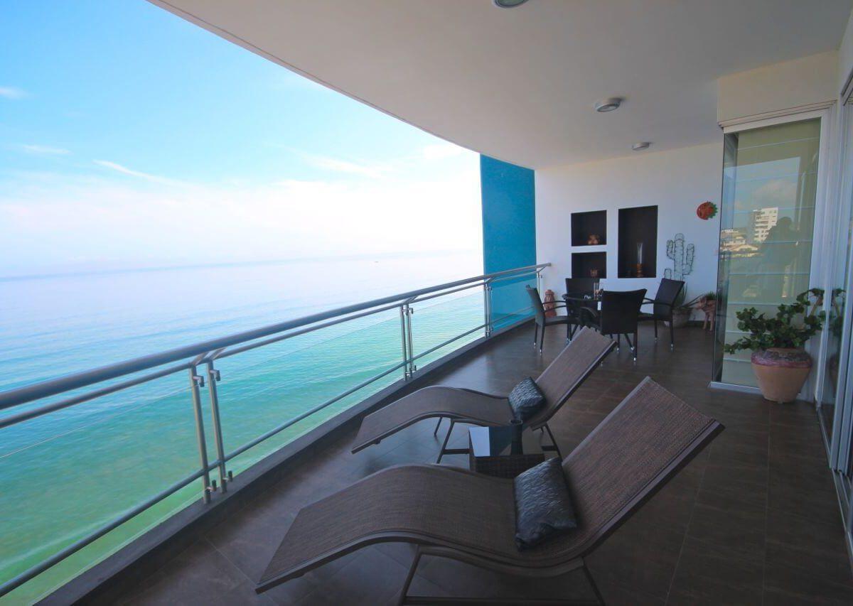 Condo Balcony Ocean View