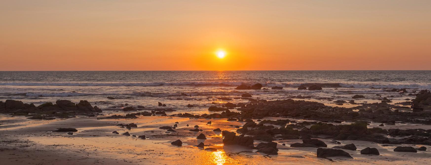 Santa Marianita Beach Sunset