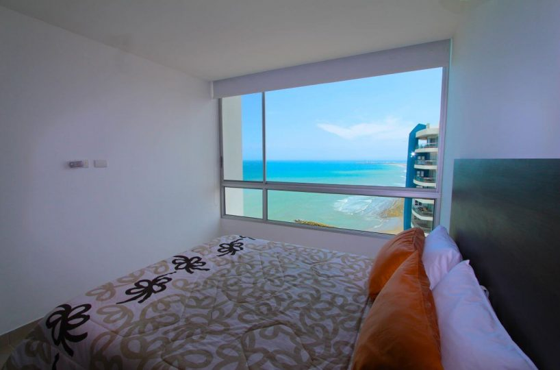Beachfront Condo Guest Bedroom