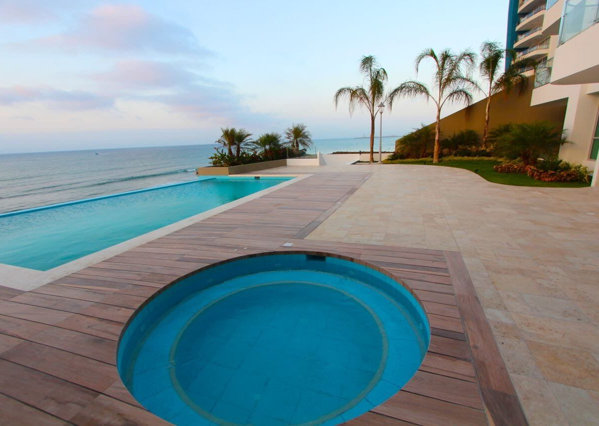Beachfront Condo Pool View