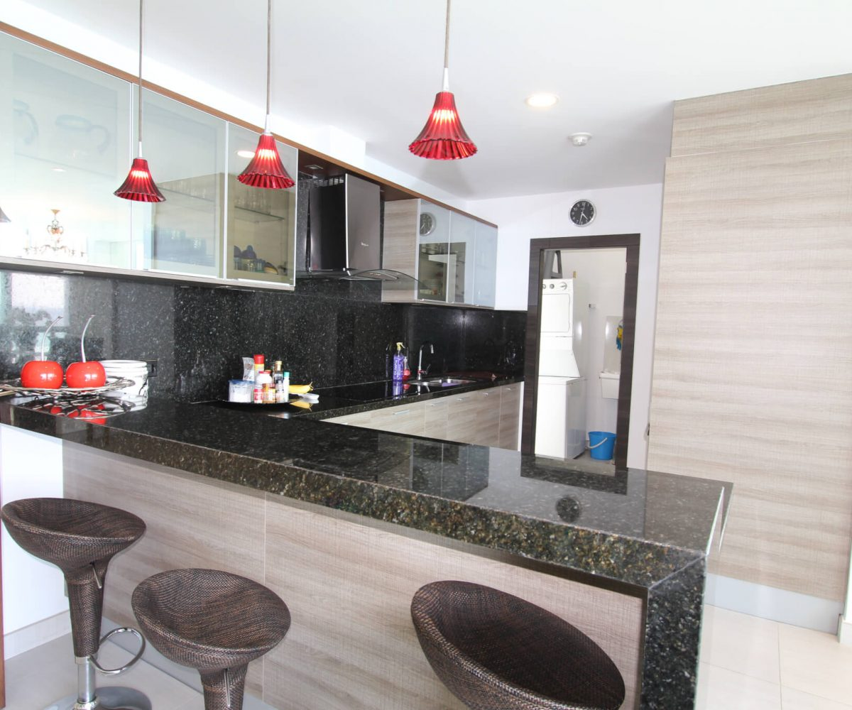 Three Bedroom Condo Kitchen