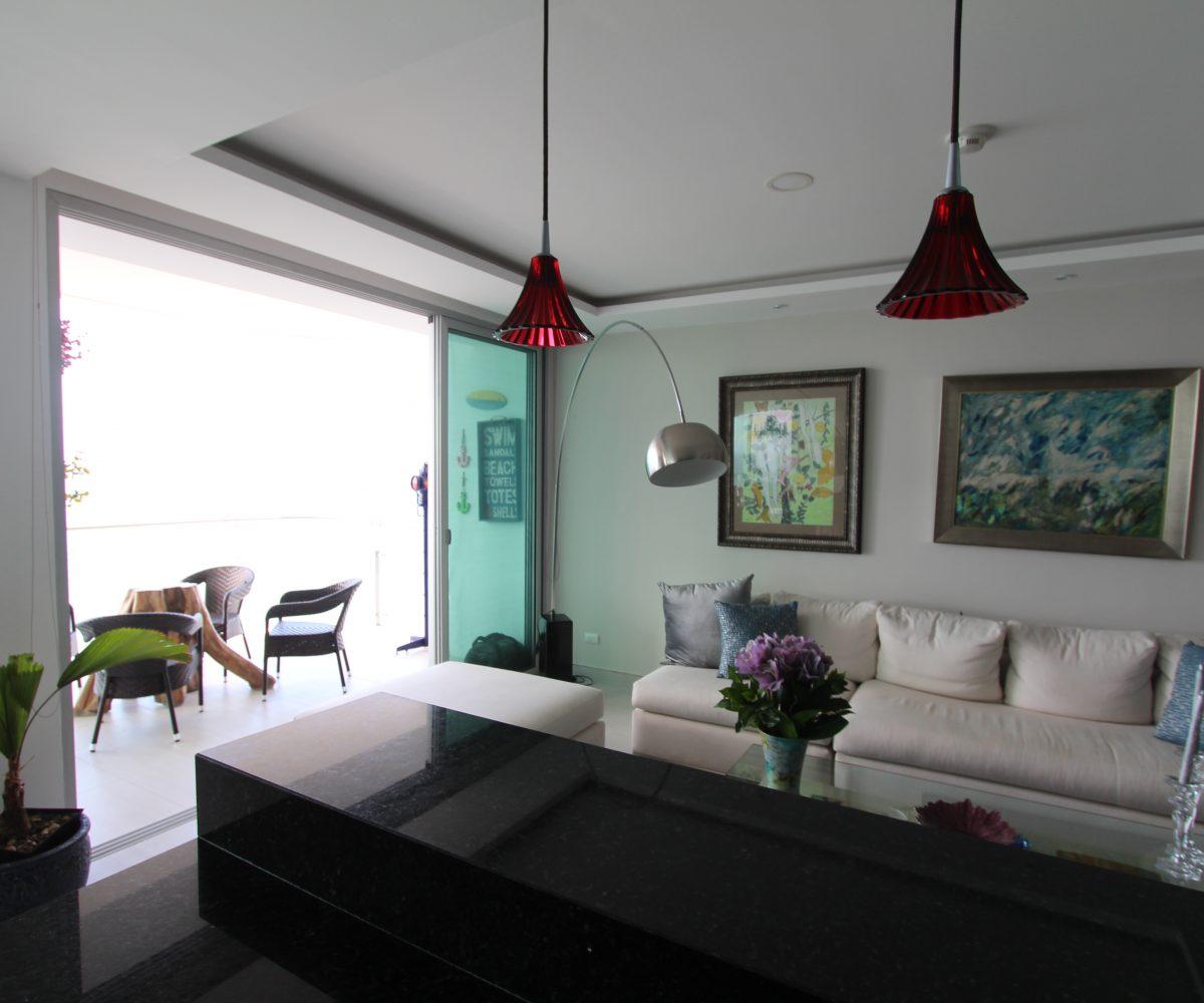 Three Bedroom Condo Living Room