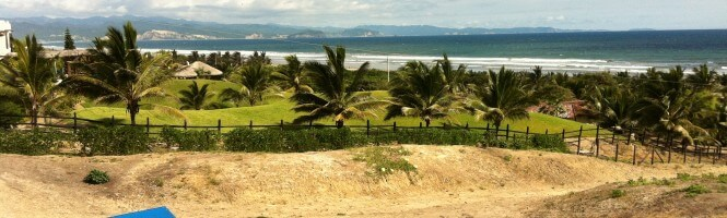 Beach and Land in Manta