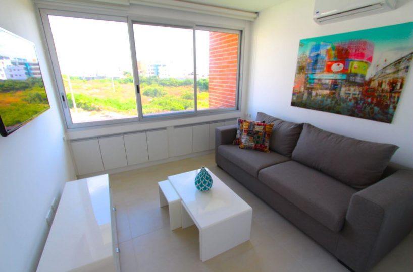 Living Room Beach Condo Ecuador