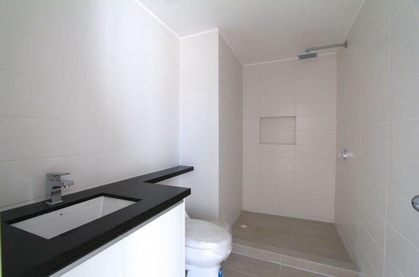 Beachfront Condo Building Bathroom