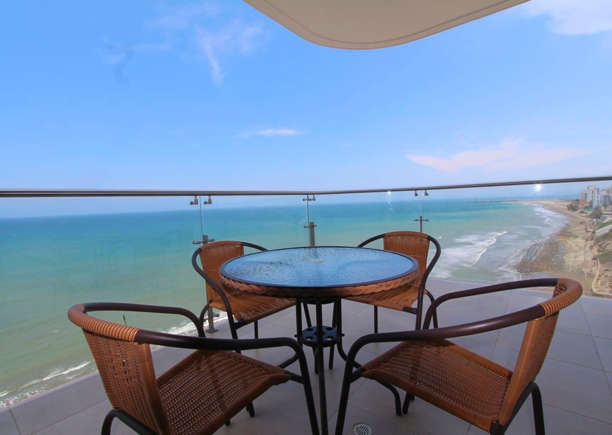 Beachfront Condo Balcony
