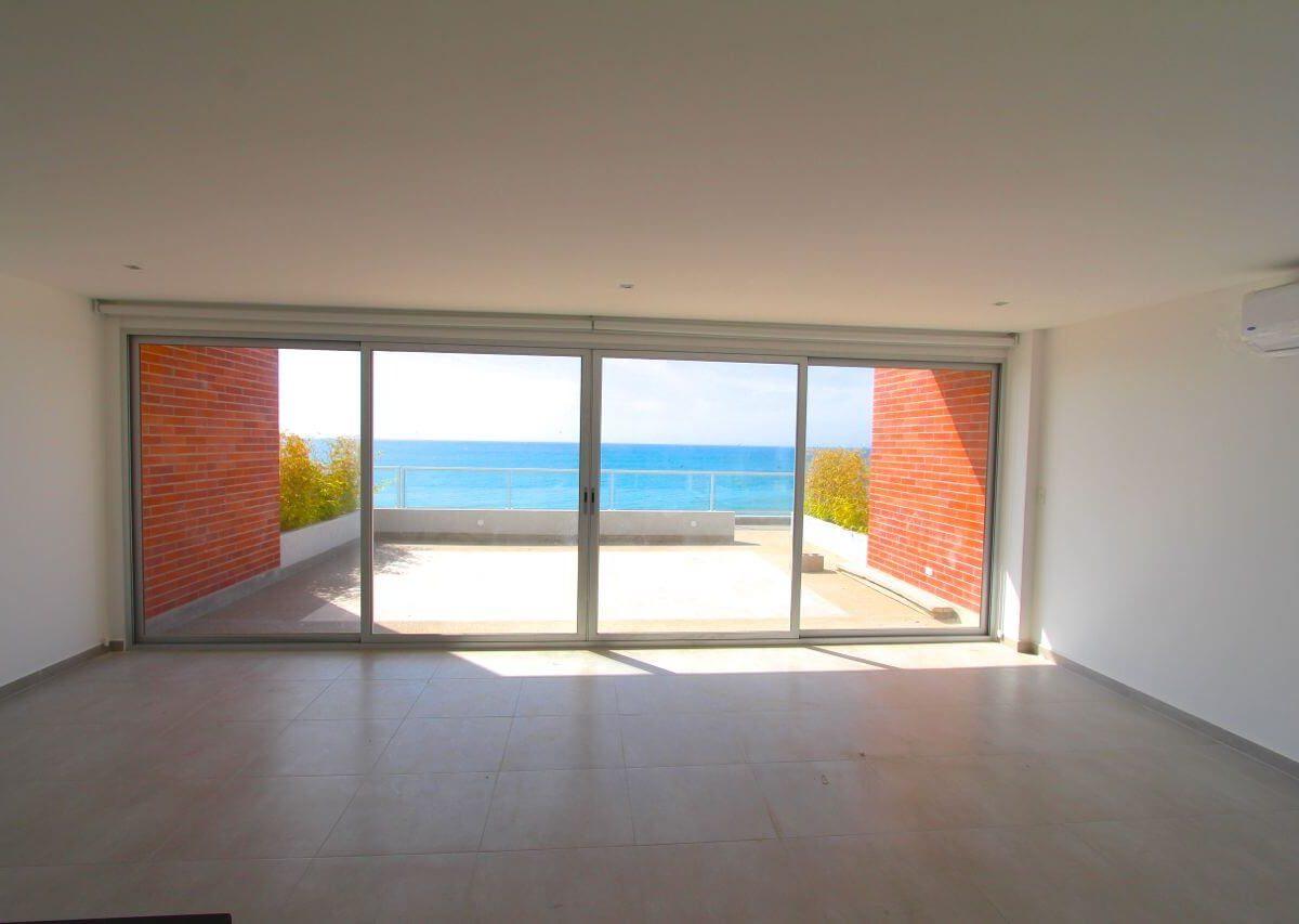 Beachfront Condo Building
