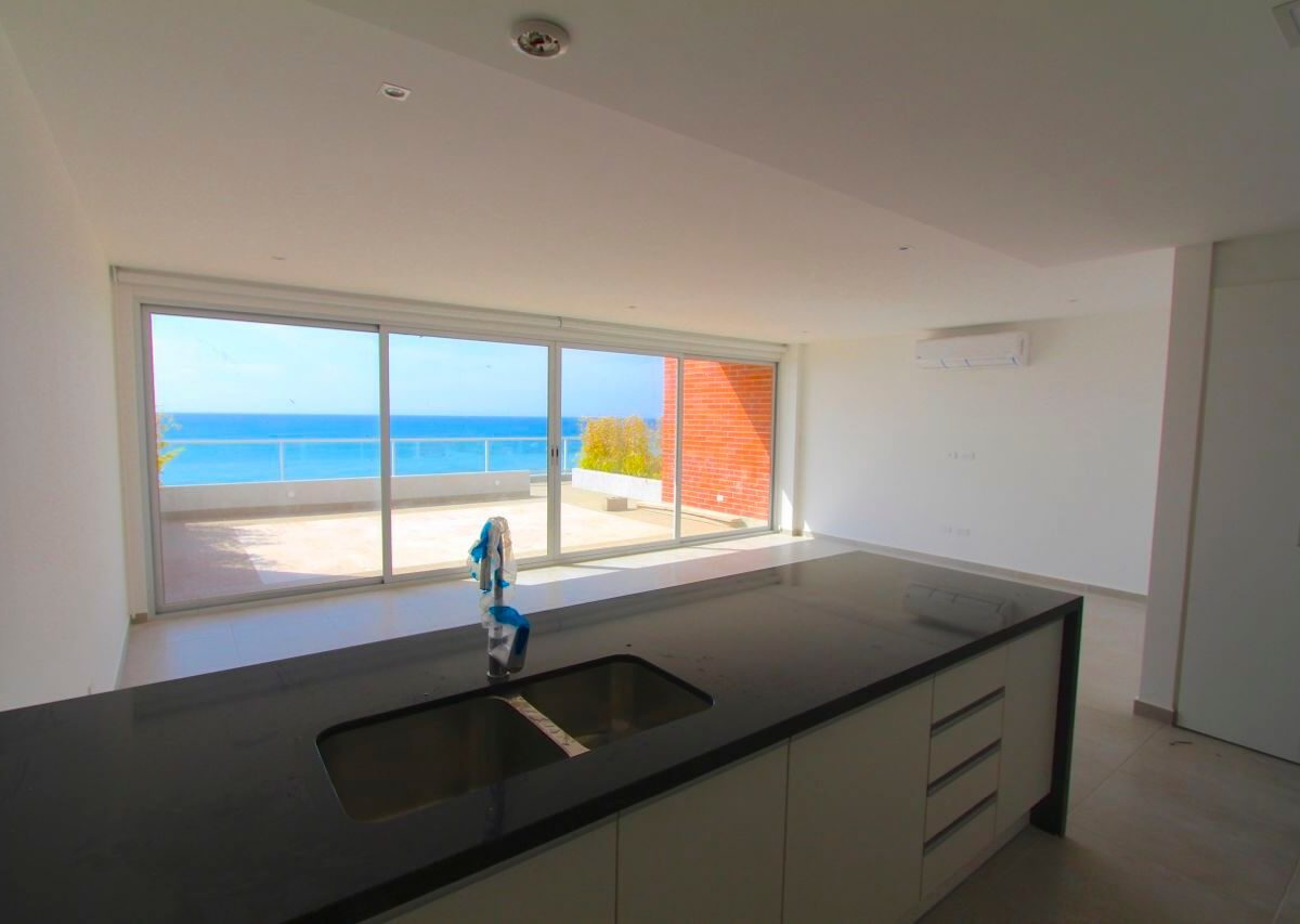Beach Condo Kitchen