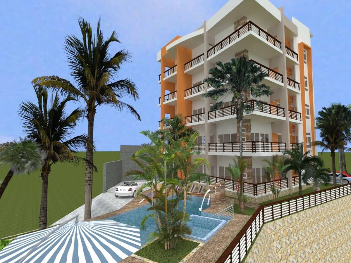Santa Marianita Beach Building 3