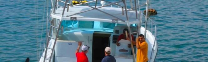 A fishing boat manta