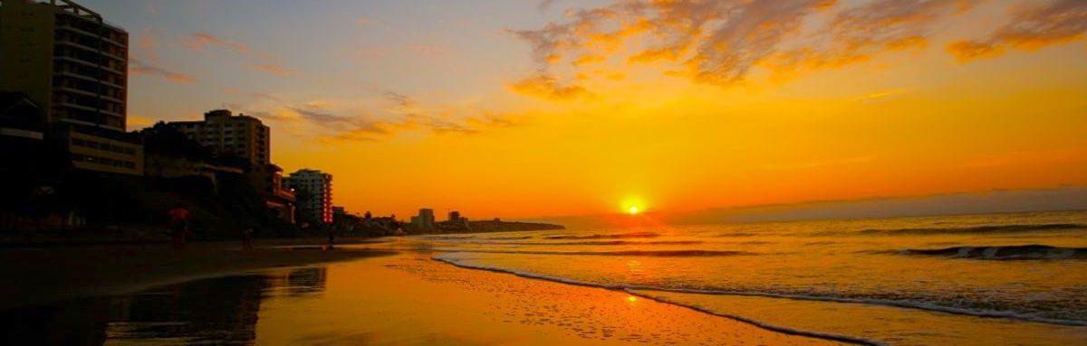 Manta Beach Sunset