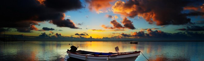 A fishing boat in Manta