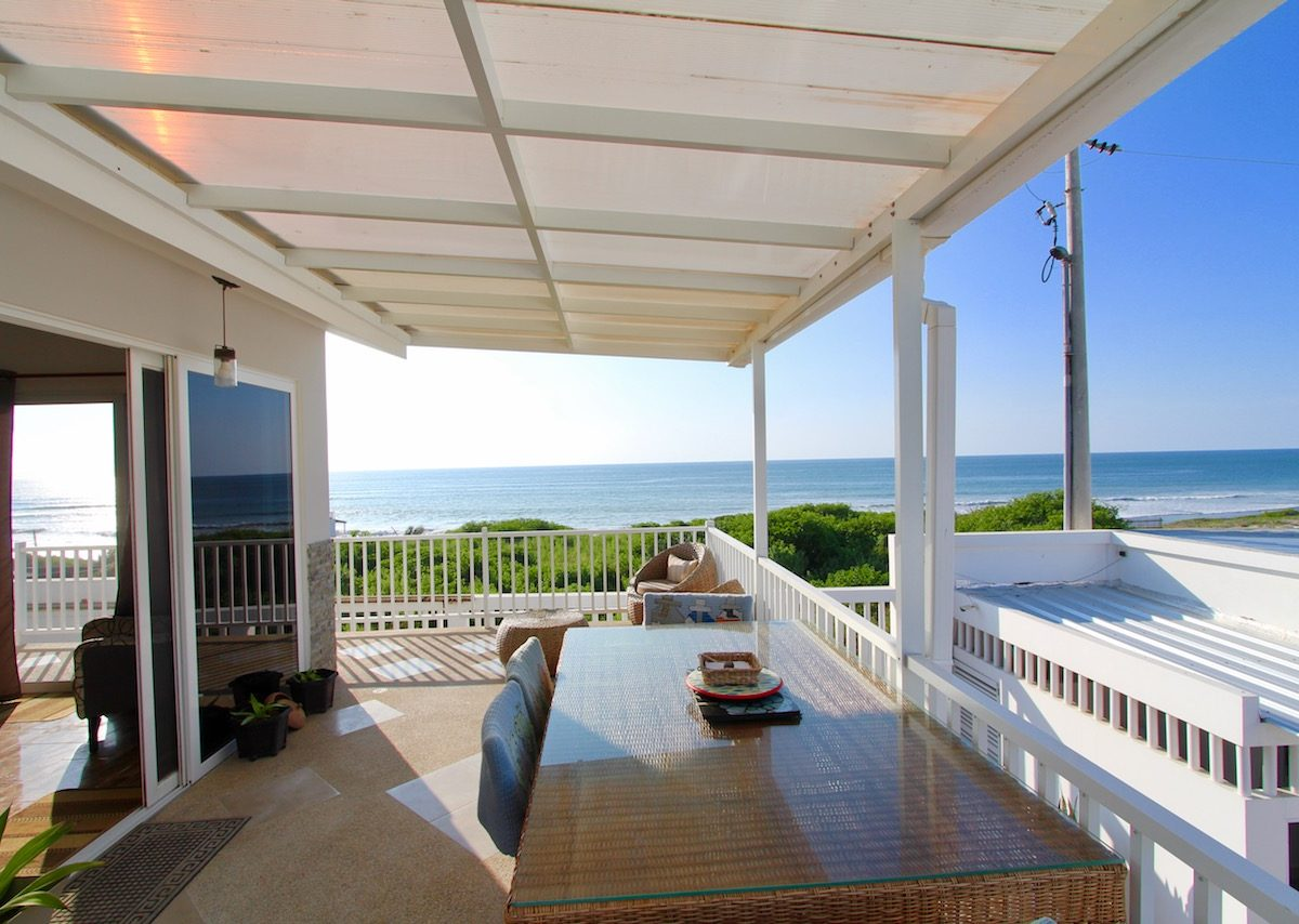 Gorgeous beach front home